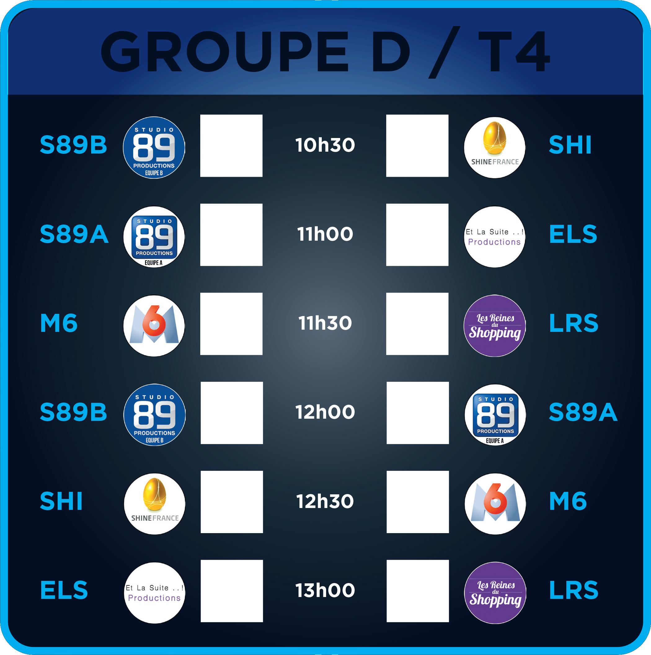Groupe D - Terrain 4