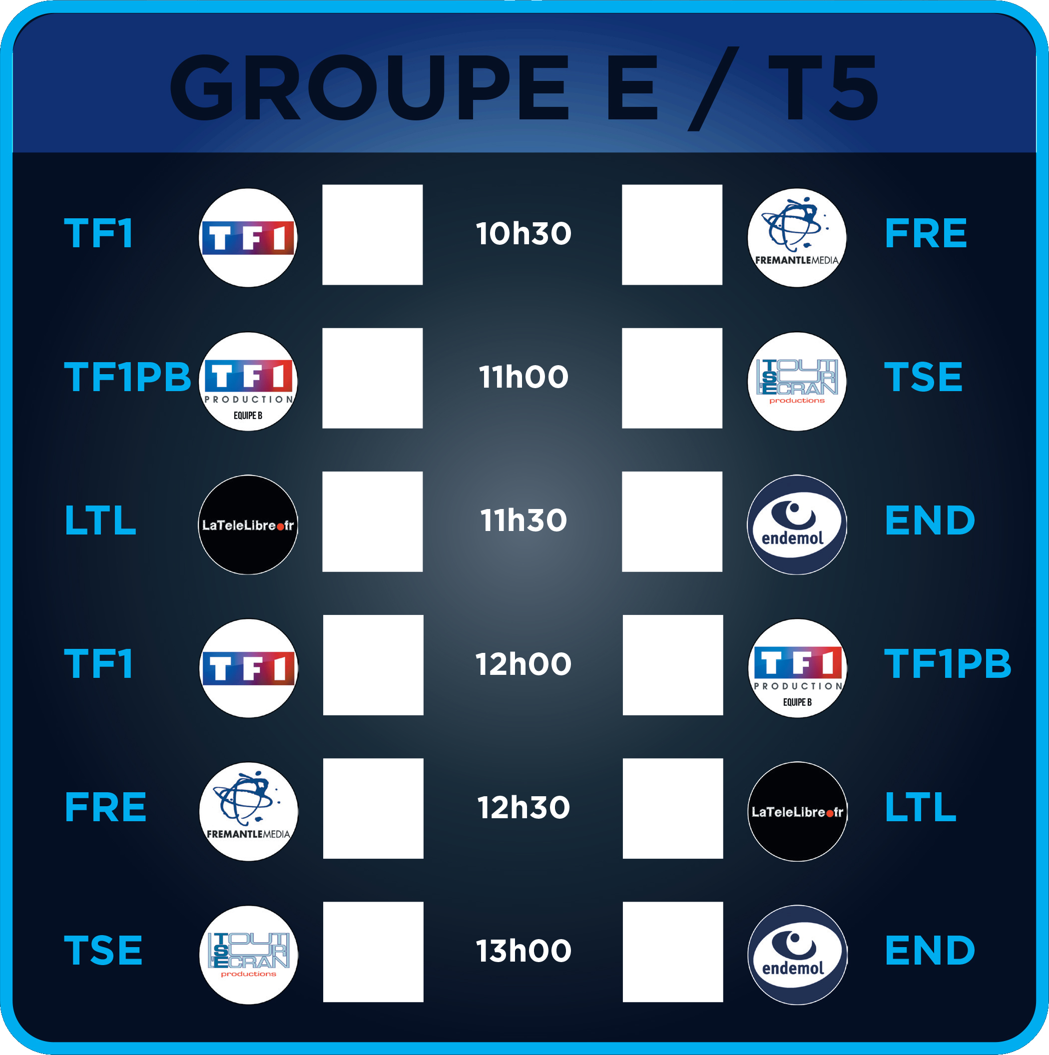 Groupe E - Terrain 5