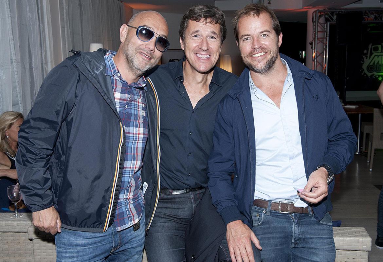 Jean-Louis Blot, Frédéric Houzelle, Tristan Carné - Opening Party