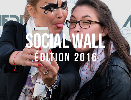 Social Wall de l'édition 2016 - Media's Cup