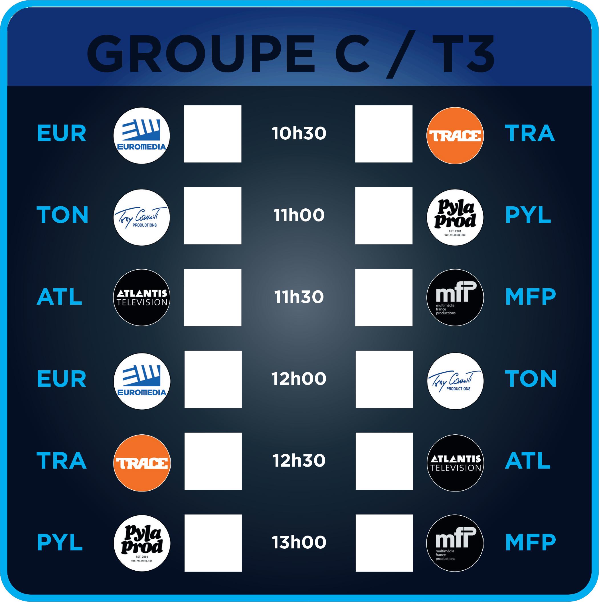 Groupe C - Terrain 3