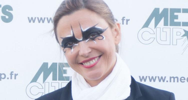 Sandrine Quétier succombe au ballon rond - Media's Cup